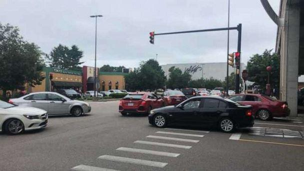 PHOTO: ATF Boston said it was responding to an 'active shooter' at South Shore Plaza mall in Braintree, Mass., on July 3, 2020. (WCVB)