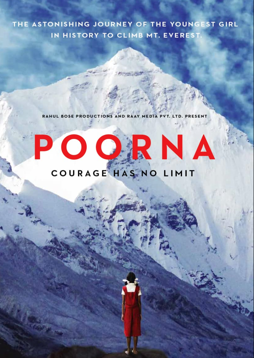 """<p><em>Poorna</em> is the dramatized true story of mountaineer Malavath Purna, who, in 2014, became the youngest girl to climb Everest. It's an incredibly story told simply and brilliantly. </p><p><a class=""""link rapid-noclick-resp"""" href=""""https://www.amazon.com/Poorna-Aditi-Inamdar/dp/B071L7TJS9/ref=sr_1_1?dchild=1&keywords=Poorna&qid=1618412060&s=instant-video&sr=1-1&tag=syn-yahoo-20&ascsubtag=%5Bartid%7C2139.g.36099738%5Bsrc%7Cyahoo-us"""" rel=""""nofollow noopener"""" target=""""_blank"""" data-ylk=""""slk:STREAM IT HERE"""">STREAM IT HERE</a></p>"""