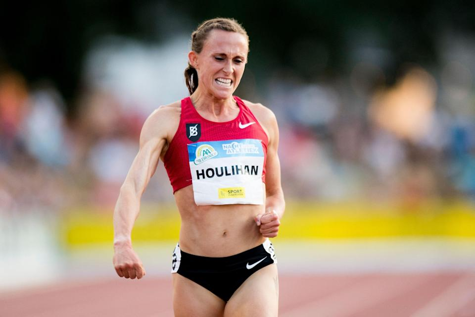 Shelby Houlihan will be allowed to compete at U.S. Olympic track and field trials while any appeals she files are pending.