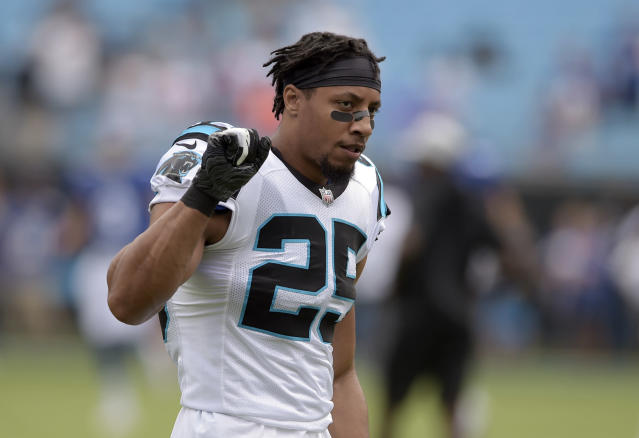 Panthers safety Eric Reid. (AP)