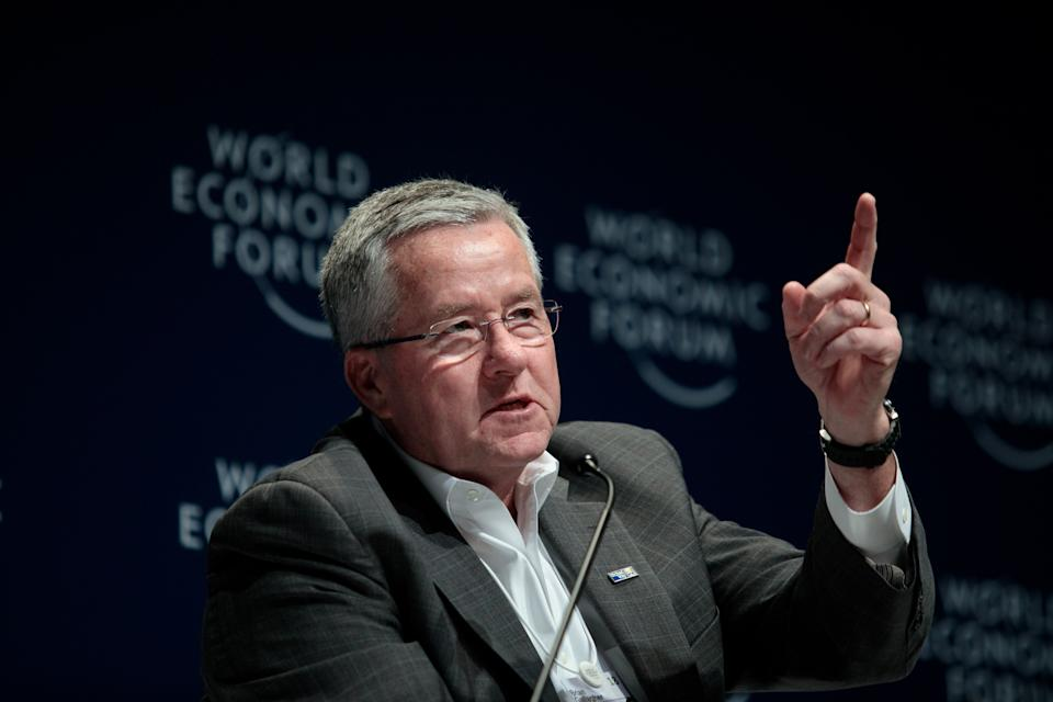 Brian Gallagher, the president and chief executive officer of United Way Worldwide, has resigned. (Photo: Bloomberg via Getty Images)