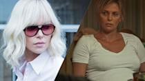 <p>Charlize Theron put on 50 pounds to play single mum Marlo in <em>Tully </em>and said she developed depression as a result. </p>