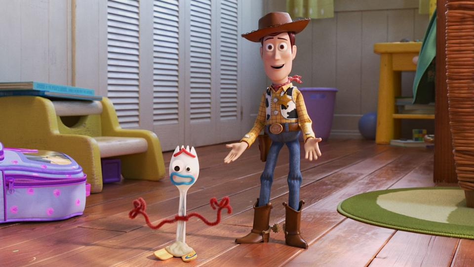 Toy Story 4 Forky and Woody