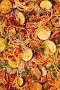 """<p>Vegetable <a href=""""https://www.delish.com/uk/cooking/recipes/a28841234/three-ingredient-spaghetti-recipe/"""" rel=""""nofollow noopener"""" target=""""_blank"""" data-ylk=""""slk:spaghetti"""" class=""""link rapid-noclick-resp"""">spaghetti</a> is the perfect way to use up leftover veggies. Use whatever you have on hand, don't feel married to these specific ones. They are just a good starting point. </p><p>Get the <a href=""""https://www.delish.com/uk/cooking/recipes/a30604939/vegetable-spaghetti-pasta-recipe/"""" rel=""""nofollow noopener"""" target=""""_blank"""" data-ylk=""""slk:Vegetable Spaghetti"""" class=""""link rapid-noclick-resp"""">Vegetable Spaghetti</a> recipe.</p>"""
