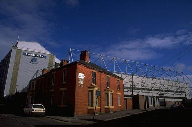 1 Jul 1997: A general view of Goodison Park, home to Everton Football Club in Merseyside, England. Mandatory Credit: Craig Prentis /Allsport