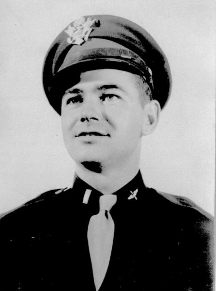 This undated family photo shows Gilbert L. Ashley, Jr., an Air Force lieutenant who was one of five members of a B-29 bomber crew who became prisoners of war after surviving their shootdown over North Korea in January 1953. (AP Photo/Family Photo)