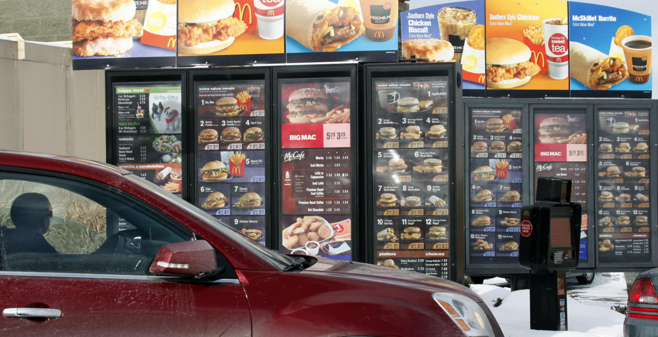 Why McDonald's is turning its drive-thru menu into an Amazon