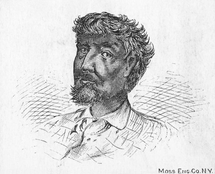 ONE TIME USE 5/25/2021 Portrait of Jean Baptiste Point Du Sable, founder of Chicago.