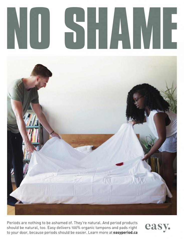 <p>A couple changes a bloodstained bed sheet because it's NBD. </p>