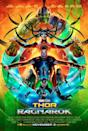 <p>This poster was a pretty good indicator of what to expect from the 'Thor' threequel: it's punky, punchy and bright – and it's a world away from the dusty old posters of 'Thor' adventures been and gone. Really we're just happy to see Hulk – and his trademark green – banish the standard 'orange and blue' colour schemes to the design dustbin. </p>