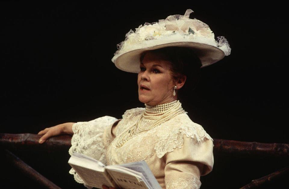 <p>Dench appeared in a National Theatre production of <em>The Seagull </em>by Anton Chekhov.<br></p>