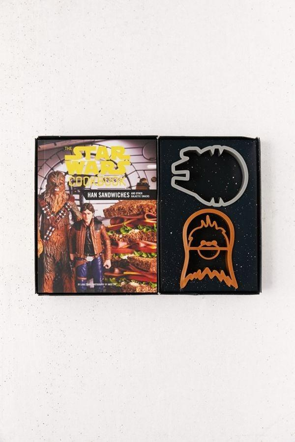 <p>Make fun meals with this <span><strong>The Star Wars Cookbook: Han Sandwiches and Other Galactic Snacks</strong></span> ($20) by Lara Starr.</p>