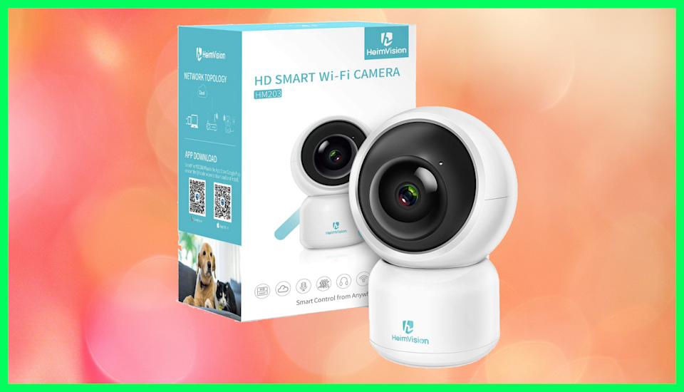 This smart home security camera is down from $30 to just $18. (Photo: Amazon)