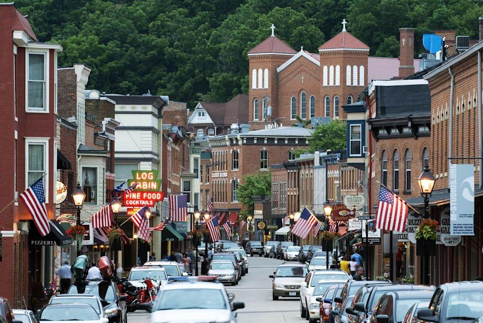 <p>The historic charm of this mining town's six-block Main Street will make you feel like you took a time machine to a different decade. After you conquer downtown, must-see attractions include the Old Market House and the Historical Society and Museum.</p>
