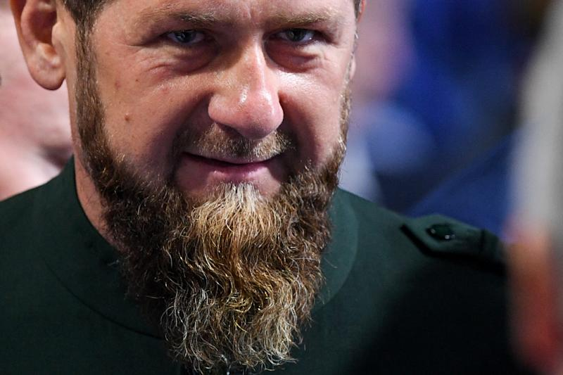 Chechen leader Ramzan Kadyrov has assumed a central role in the process of repatriating Islamists' relatives (AFP Photo/Kirill KUDRYAVTSEV)