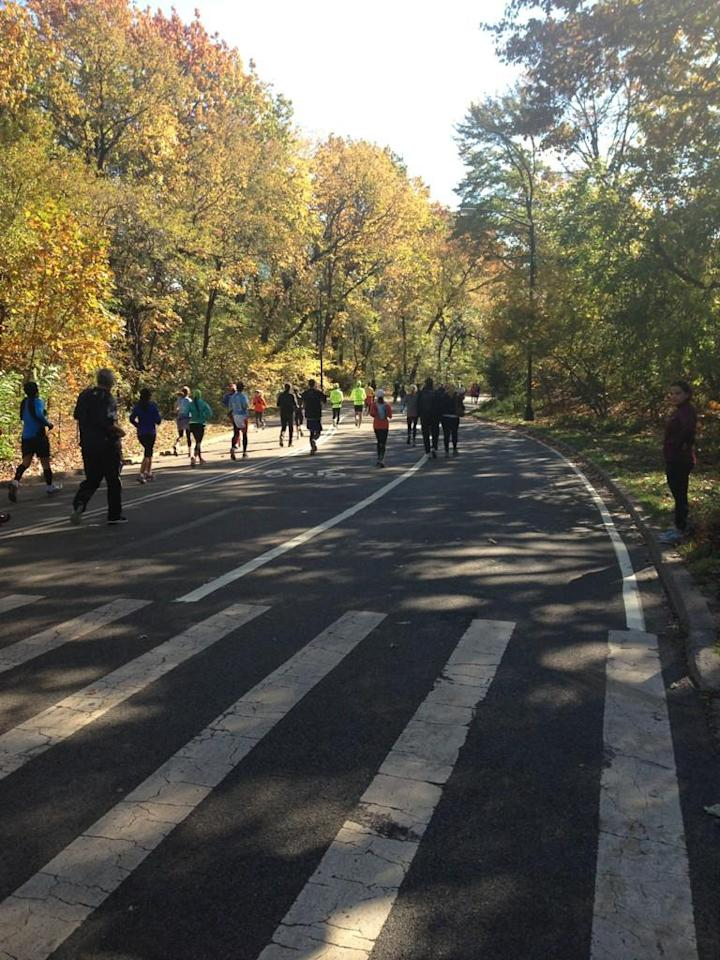 What an experience. #unofficial #nycmarathon