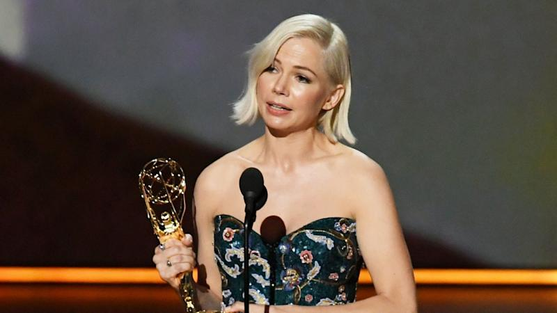 Michelle Williams Wins First Emmy for 'Fosse/Verdon,' Gives Powerful Speech About Pay Equality