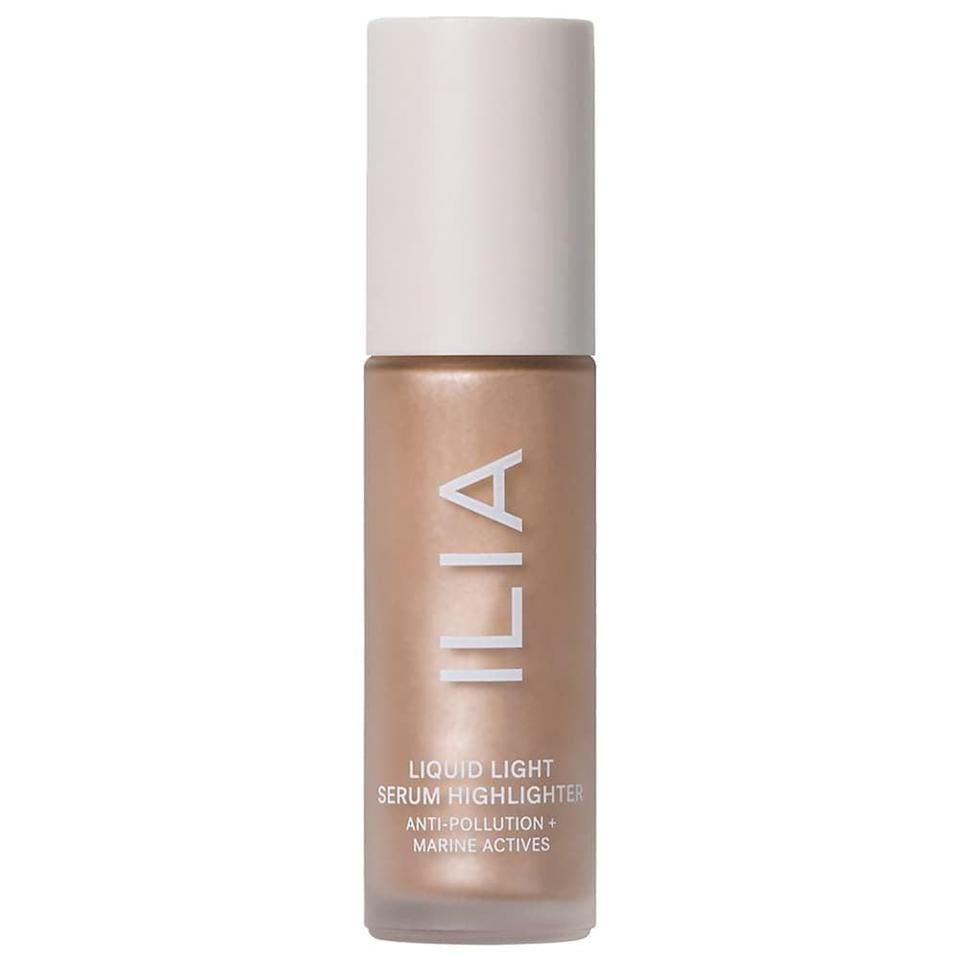 <p>Mix the <span>ILIA Liquid Light Serum Highlighter in Astrid</span> ($42) with your moisturizer or foundation for the most radiant glow-from-within skin.</p>