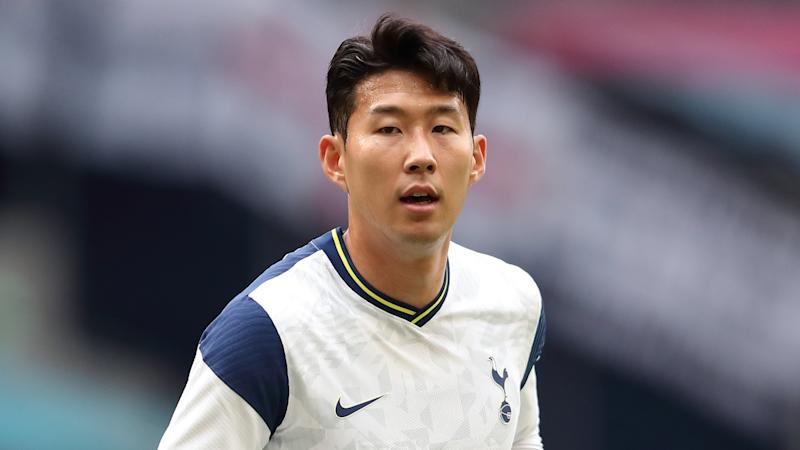 Tottenham star Son out for 'a while' with hamstring injury, Mourinho confirms
