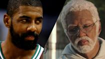 <p>The practical effects team worked hard to age-up Reggie Miller as Lights in<em> Uncle Drew.</em> </p>