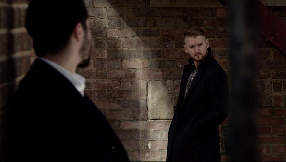<p>Laura has told Adam how Gary threatened her and refuses point blank to call Rick.</p>