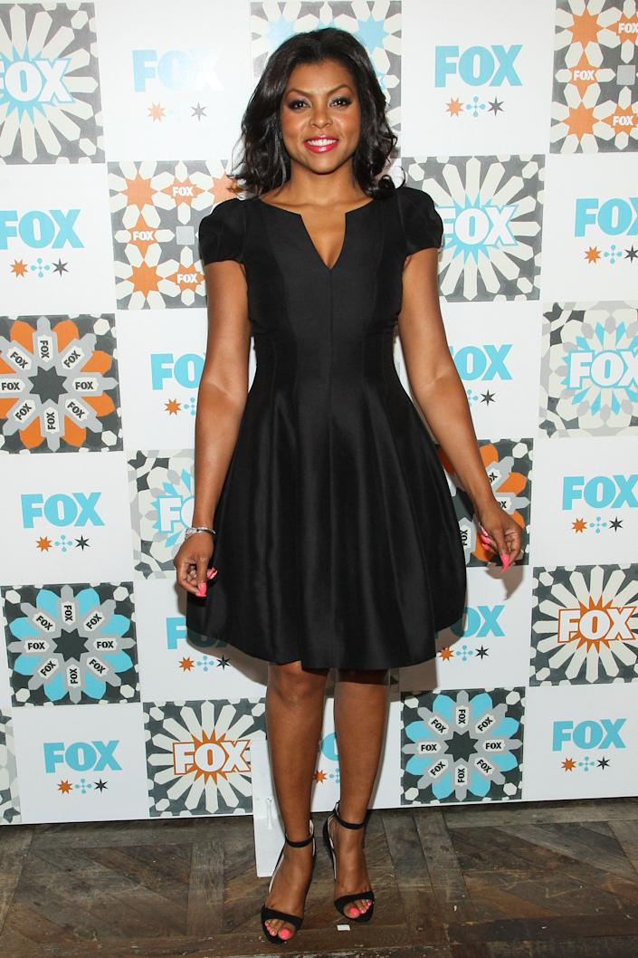 Taraji P. Henson attends the FOX Summer TCA All-Star Party at Soho House on Sunday, July 20, 2014 in West Hollywood, Calif. (Photo by Paul A. Hebert/Invision/AP)