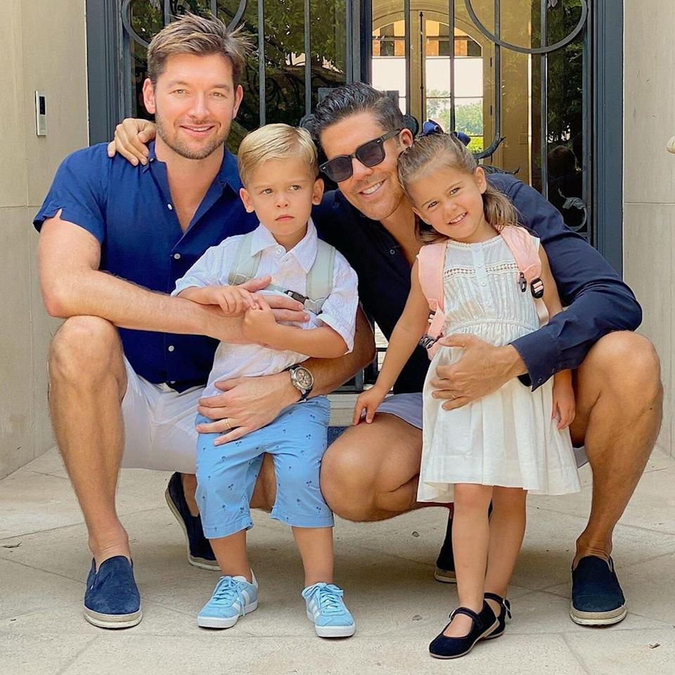 Fredrik Eklund Shares 'Bittersweet' Message About His 2½-Year-Old Twins' First Day of School