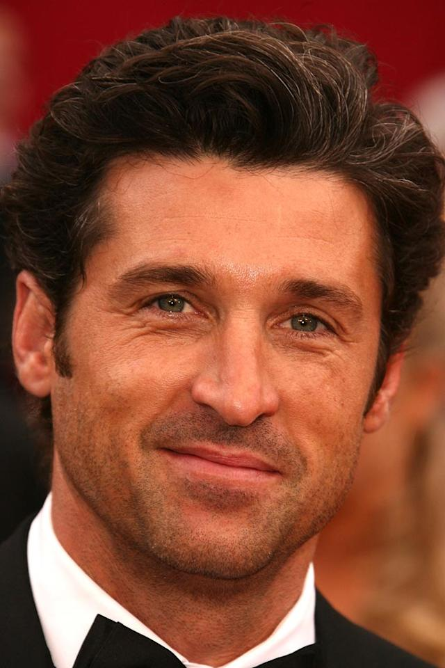 """<a href=""""http://movies.yahoo.com/movie/contributor/1800043749"""">Patrick Dempsey</a> attends the 80th Annual Academy Awards in Los Angeles - 02/24/2008"""