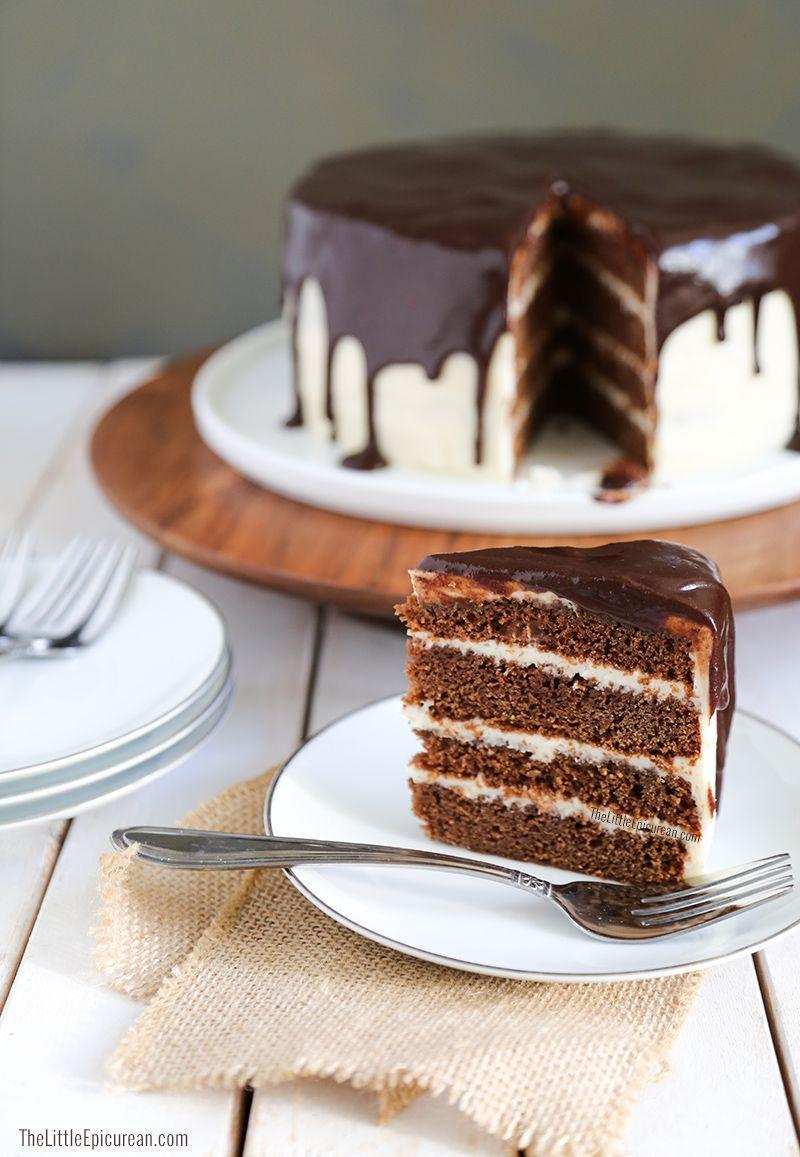 """<p>This boozy cake offers all the hearty flavors of chocolate stouts and Irish whiskey, without the harsh tastes of alcohol. </p><p><a href=""""https://www.thelittleepicurean.com/2014/03/whiskey-stout-chocolate-cake.html"""" rel=""""nofollow noopener"""" target=""""_blank"""" data-ylk=""""slk:Get the recipe at The Little Epicurean »"""" class=""""link rapid-noclick-resp""""><em>Get the recipe at The Little Epicurean »</em></a></p>"""