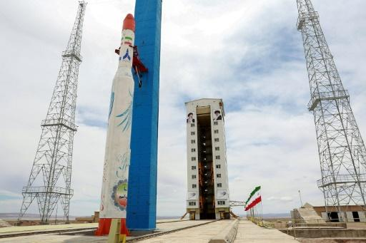 "The United States has previously described Iran's satellite programme as a ""provocation"""