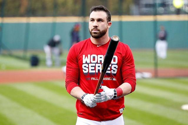 Jason Kipnis definitely has a well-groomed beard. (Getty Images)