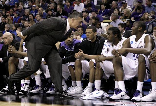 Frank Martin has employed a bombastic style of coaching wherever he's been. (AP)