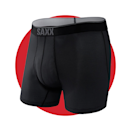 """<p>saxxunderwear.com</p><p><strong>$32.00</strong></p><p><a href=""""https://go.redirectingat.com?id=74968X1596630&url=https%3A%2F%2Fwww.saxxunderwear.com%2Fproducts%2Fsxbb70f_dc2&sref=https%3A%2F%2Fwww.menshealth.com%2Ftechnology-gear%2Fg34088511%2Fmens-health-outdoor-awards-2020%2F"""" rel=""""nofollow noopener"""" target=""""_blank"""" data-ylk=""""slk:BUY IT HERE"""" class=""""link rapid-noclick-resp"""">BUY IT HERE</a></p><p>Don't let discomfort ruin your time in nature. SAXX's top-rated boxer brief features the brands innovative hammock-shaped pouch design to keep your man bits where they need to be and prevent chaffing. Combined with flat, smooth seams and moisture-wicking technology, no underwear will keep you more comfortable down there than this pair while you hike, fish, trail run, or do any other physical activity outdoors.</p>"""