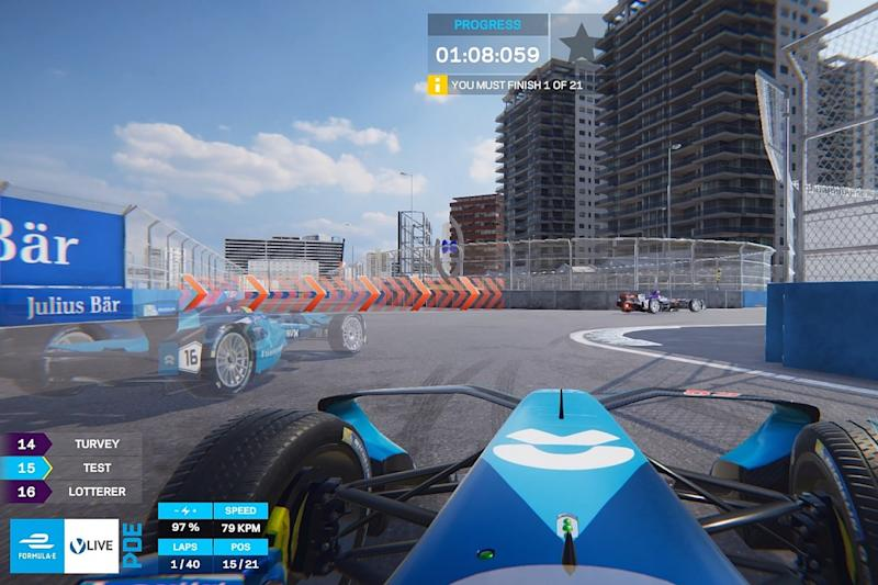 What teaser version reveals about Formula E's ghost gaming app