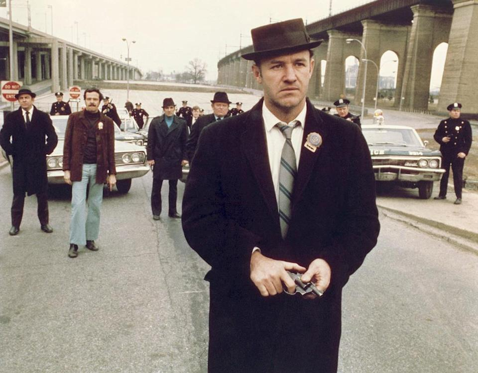 """<a href=""""http://movies.yahoo.com/movie/the-french-connection/"""" data-ylk=""""slk:THE FRENCH CONNECTION"""" class=""""link rapid-noclick-resp"""">THE FRENCH CONNECTION</a> (1971) <br>Directed by: <span>William Friedkin</span> <br>Starring: <span>Gene Hackman</span>, <span>Fernando Rey</span> and <span>Roy Scheider</span>"""