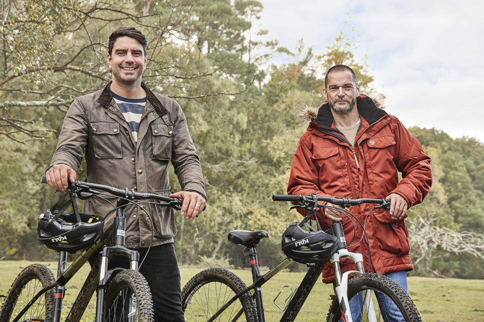 Chris Bavin and Fred Sirieix head to the New Forest. (BBC/Outline Productions)