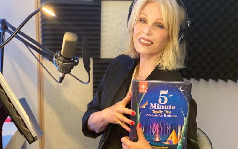 Soothing tones: Joanna Lumley's latest project is an audio recording for a children's book