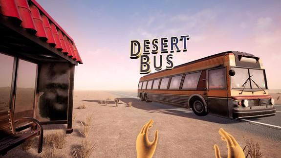 Desert Bus VR available now for some tedious driving