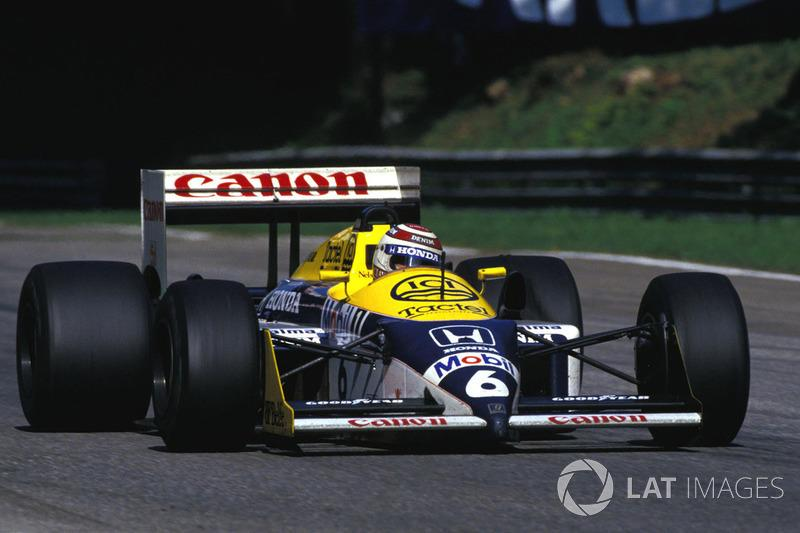 "Nelson Piquet - Williams FW11B-Honda - GP de Italia de 1987<span class=""copyright"">Sutton Motorsport Images</span>"
