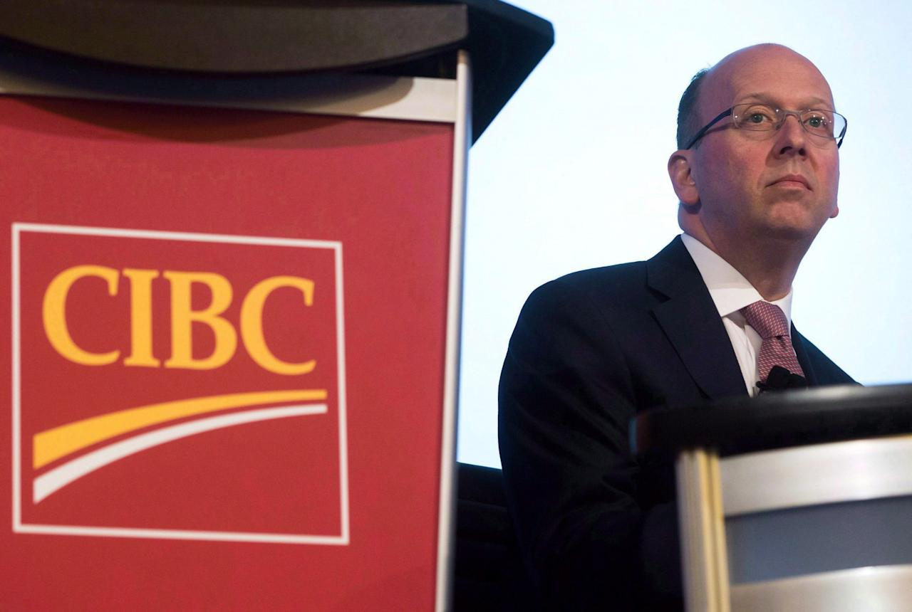 <p><b>No. 5: Victor Dodig, CIBC</b><br />Total direct compensation in 2016: $8,793,500<br />(THE CANADIAN PRESS/Darryl Dyck) </p>