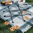 <p>Both adults and kids will love this <span>Backyard Halloween Tic Tac Toe</span> ($70). </p>