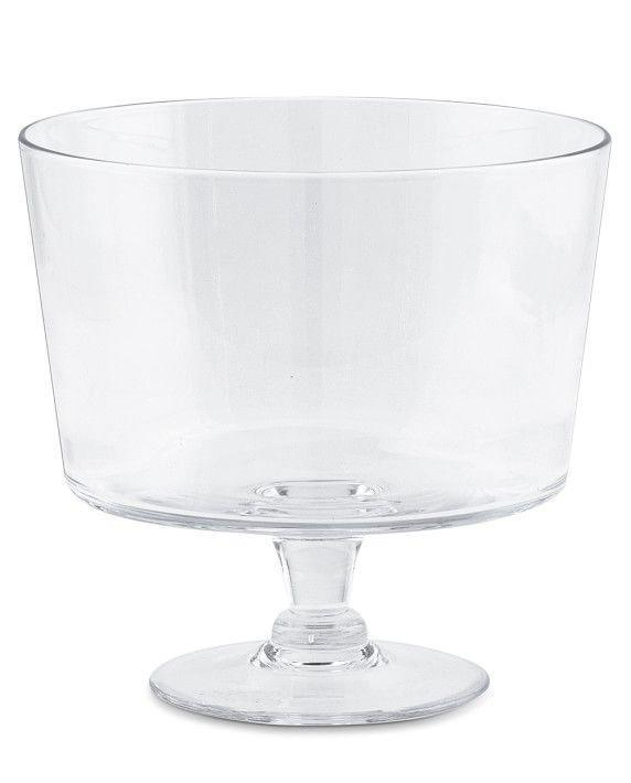 """<p>williams-sonoma.com</p><p><strong>$49.95</strong></p><p><a href=""""https://go.redirectingat.com?id=74968X1596630&url=https%3A%2F%2Fwww.williams-sonoma.com%2Fproducts%2F7732498&sref=https%3A%2F%2Fwww.housebeautiful.com%2Fshopping%2Fg37134685%2Fbest-wedding-gifts%2F"""" rel=""""nofollow noopener"""" target=""""_blank"""" data-ylk=""""slk:BUY NOW"""" class=""""link rapid-noclick-resp"""">BUY NOW</a></p><p>Your friends definitely received five new cookbooks to add to their kitchen nook. This glass trifle bowl will inspire them to bake and impress their in-laws.</p>"""