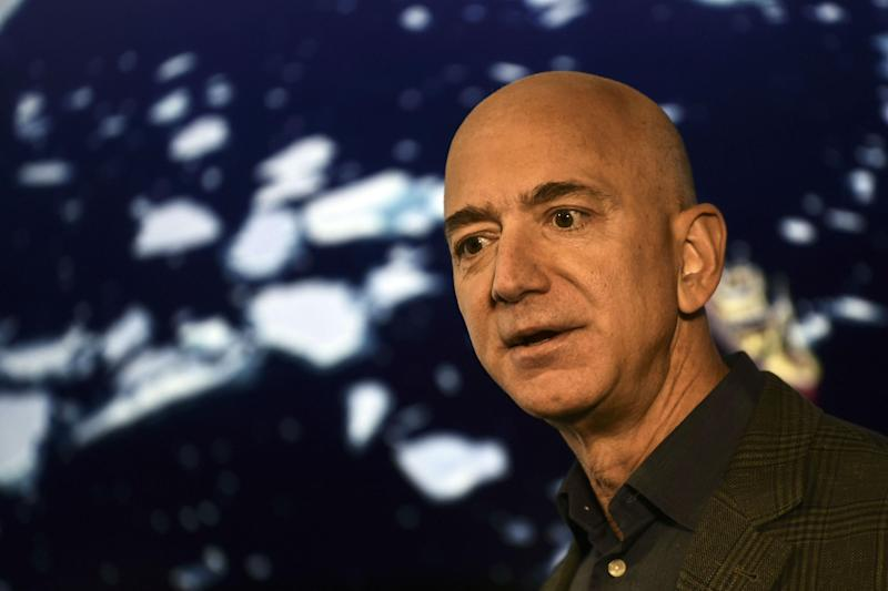 Jeff Bezos is worth an estimated $110bn: Getty