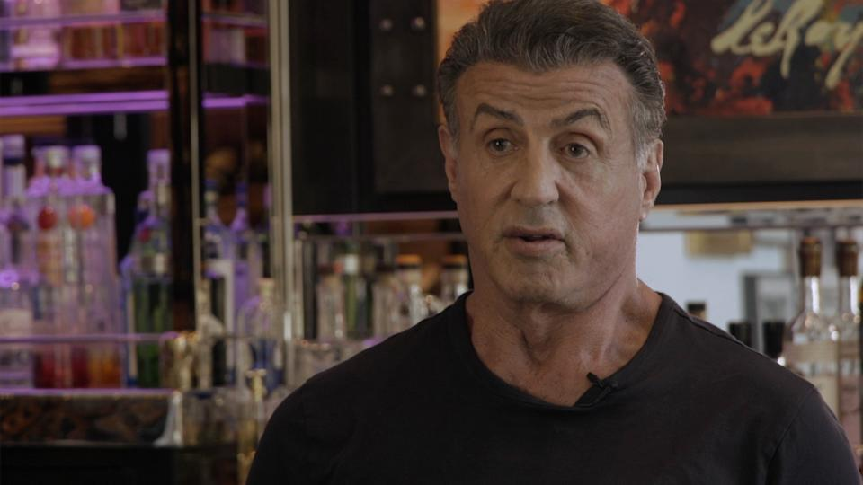 Sylvester Stallone talks about growing up with his younger brother in the new documentary, 'Stallone: Frank, That Is' (Photo: Branded Studios)