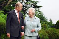 <p>To celebrate their diamond wedding anniversary in 2007, Prince Philip showed off his romantic side by taking his wife back to Broadlands where they spent their first night as a married couple. Photo: Getty Images.</p>