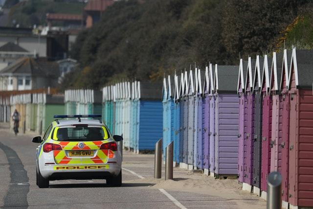 Police on patrol at Bournemouth