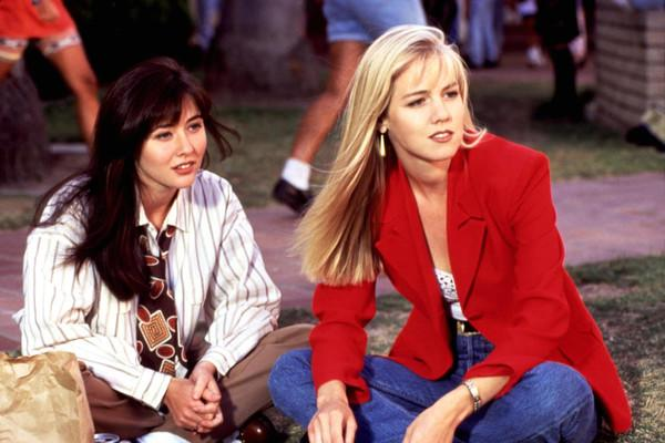 Shannen Doherty (left) is best known for her roles on 90's smash hits like 90210. Photo:FOX