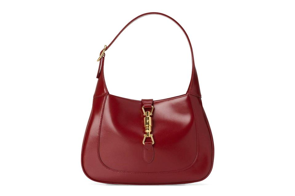 "$1990, Gucci. <a href=""https://www.gucci.com/us/en/pr/women/handbags/shoulder-bags-for-women/bucket-bags-for-women/jackie-1961-small-hobo-bag-p-63670910O0G6638"" rel=""nofollow noopener"" target=""_blank"" data-ylk=""slk:Get it now!"" class=""link rapid-noclick-resp"">Get it now!</a>"
