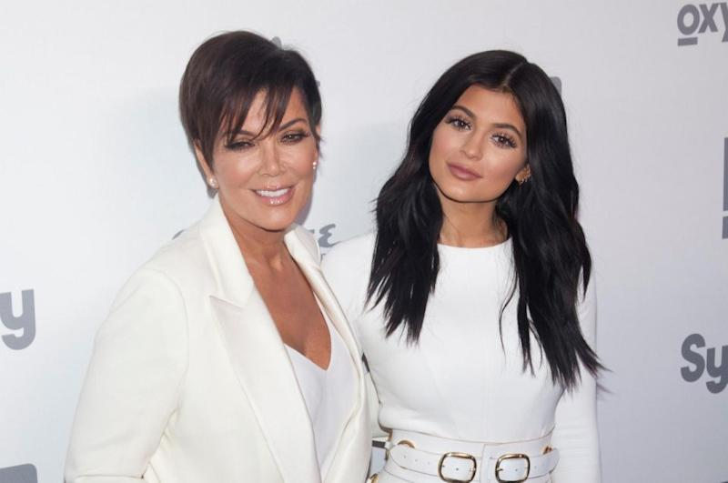 In a recent KUWTK episode, it is discovered one of Kylie's employees tried to secretly snap a picture of her in her own home. Kris and her youngest daughter are pictured here at an event together in 2015. Source: Getty