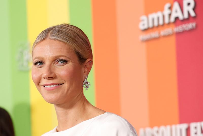 Actor Gwyneth Paltrow attends the 10th amfAR Gala in Los Angeles, California, U.S., October 10, 2019. REUTERS/Mario Anzuoni